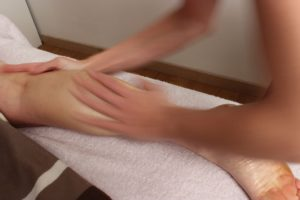 massage californien jambes