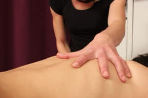 massage Korkea dos