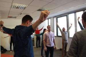 Atelier collectif en entreprise